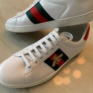 Gucci Bee Sneaker Shoes